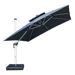 最佳悬臂伞紫色