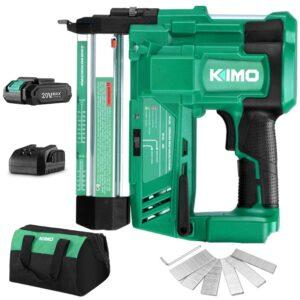 最佳无绳布拉德钉选择:KIMO 20V 18规无绳布拉德钉钉套件