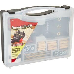 Best Dowel Jig Option: Milescraft 1309 DowelJigKit - Complete Doweling Kit