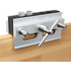 Best Dowel Jig Option: AUTOTOOLHOME Self Centering Doweling Jig Step Drill