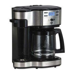 Best Dual Coffee Maker Option: Hamilton Beach 2-Way Brewer Coffee Maker