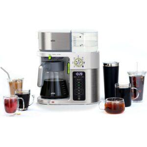 Best Dual Coffee Maker Option: Braun MultiServe Coffee Machine