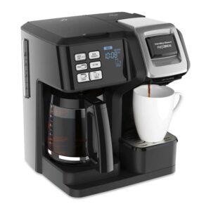 Best Dual Coffee Maker Option: Hamilton Beach FlexBrew Trio Coffee Maker