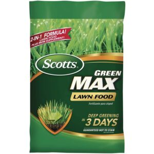 蜈蚣草的最佳肥料选择:Scotts Green Max草坪食物