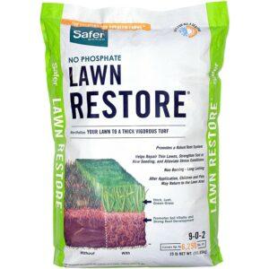 蜈蚣草的最佳肥料选项:更安全的品牌9334草坪恢复肥料