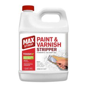 The Best Liquid Sander Deglosser Option: MAX Strip Paint & Varnish Stripper