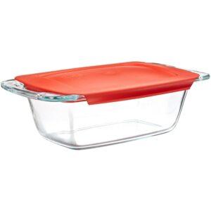 Best Loaf Pan Option: Pyrex Easy Grab 1.5-Quart Glass Loaf Dish