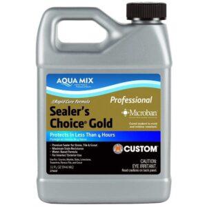 最好的大理石封口机选项:Aqua Mixe Sealer的选择黄金