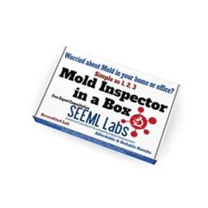 The Best Mold Test Kit Option: Seeml Labs DIY Mold 3 Test Kit (Same Day Results)
