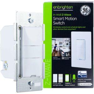 最佳运动传感器灯开关选项:GE Enbrigren Z-Wave加上智能运动传感器灯