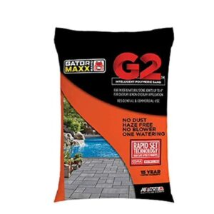 The Best Polymeric Sand Option: Alliance Gator Maxx G2 Intelligent Polymeric Sand