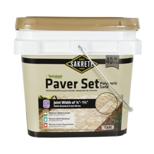 The Best Polymeric Sand Option: Sakrete Paver Set Joint Sand
