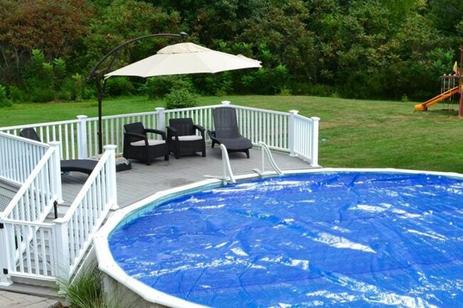 The Best Solar Pool Cover Option