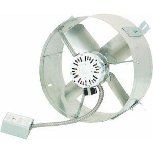 最好的全房风扇选项:酷阁楼CX1500山墙贴装电源阁楼呼吸机