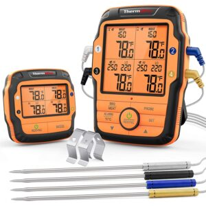The Best Wireless Meat Thermometer Option: ThermoPro TP27 Long Range Wireless Meat Thermometer