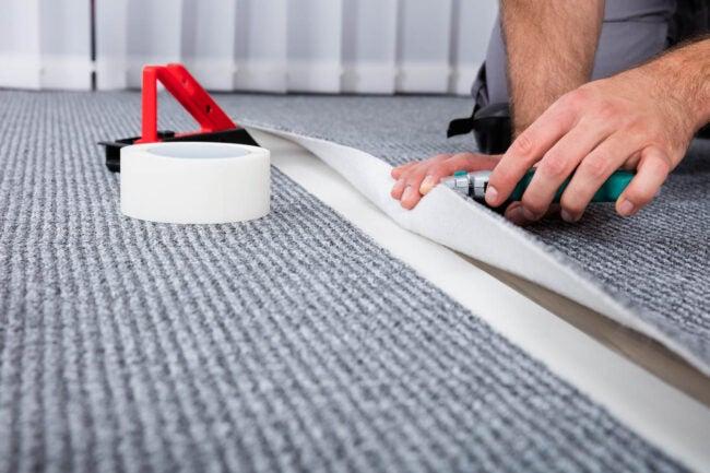 地毯安装成本享有新地毯