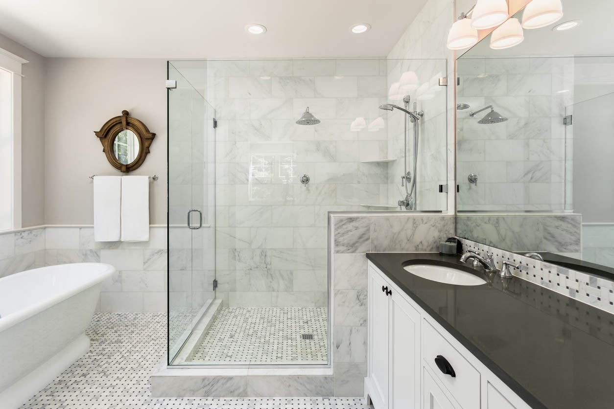 Bathroom Remodel Or Hire A Professional, Bathroom Repair Contractor