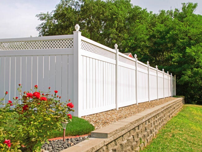 Fence Installation Cost Types of Fences