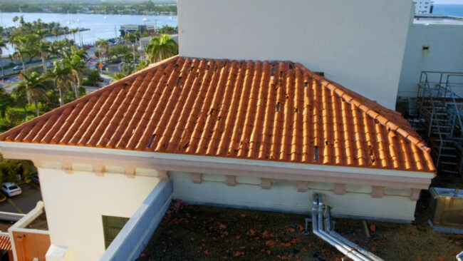 Hail Damage Roof Look for Signs of Damage