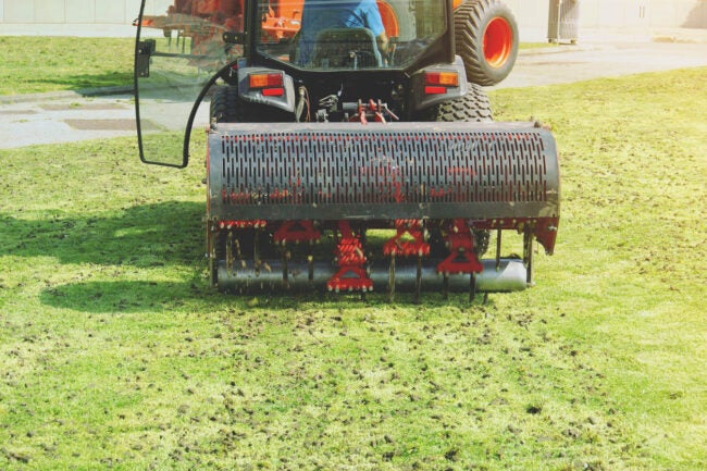 Lawn Aeration Cost