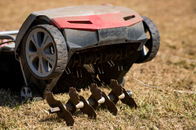 Lawn Aeration Cost Methods
