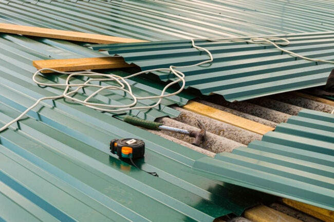 Metal Roof Cost Types of Materials