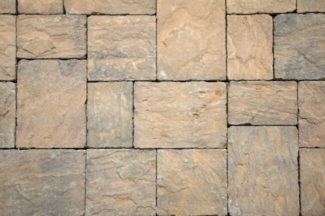 Paver Patio Cost Types of Material