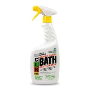 最适合玻璃淋浴的清洁选项:CLR Pro多功能浴每日清洁剂