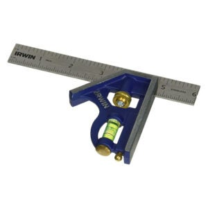 The Best Combination Square Option: IRWIN Tools Combination Square, Metal-Body, 6-Inch