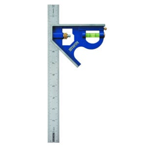 The Best Combination Square Option: Irwin Tools Combination Square, Metal-Body, 12