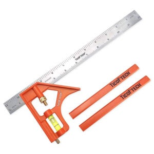 The Best Combination Square Option: TICOFTECH 12-Inch Combination Square, Inch Metric