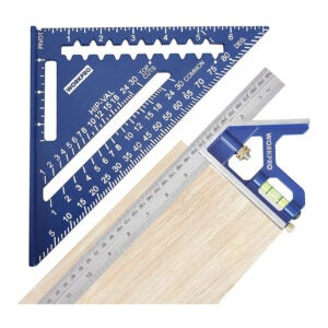 The Best Combination Square Option: WORKPRO Rafter Square and Combination Square Tool Set