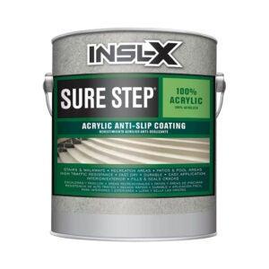 最佳甲板表面修复选择:INSL-X SU092209A-01 Sure Step Acrylic Anti-Slip