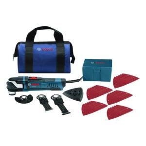The Best Detail Sander Option: Bosch StarlockPlus Oscillating Multi-Tool Kit