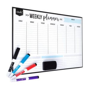 The Best Dry Erase Board Option: cinch! Magnetic Dry Erase Weekly Calendar