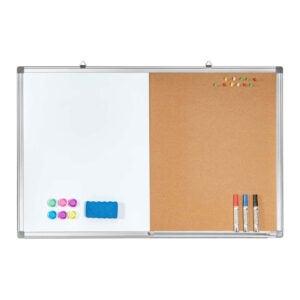 The Best Dry Erase Board Option: maxtek Combination White Board & Bulletin Cork Board