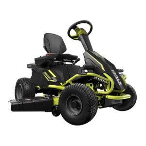 最好的父亲节礼物选择:Ryobi电动后发动机骑行割草机