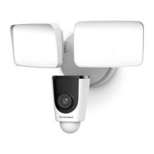 The Best Floodlight Camera Option: Amcrest Floodlight Camera, Built-in Siren Alarm