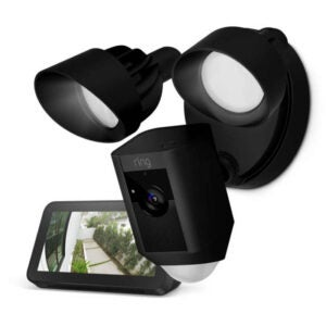 The Best Floodlight Camera Option: Ring Floodlight Camera with Echo Show 5
