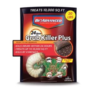 最佳Grub杀手选项:BioAdvanced颗粒剂700745S 24小时Grub杀手