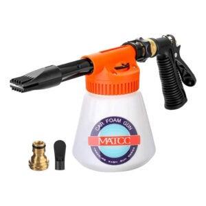 最佳软管末端喷雾器选项:MATCC汽车泡沫枪泡沫炮爆破