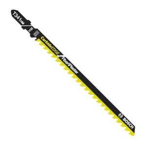 The Best Jigsaw Blades Option: BOSCH T341HM1 1-Piece 5-1/4 In. Jig Saw Blades