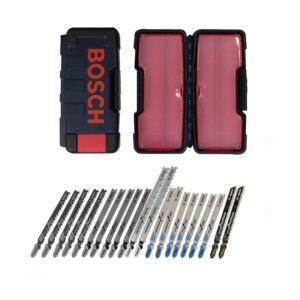 The Best Jigsaw Blades Option: Bosch Thermotechnology 21-Piece T-Shank Jig Saw Set