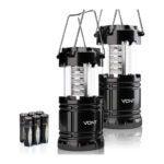 The Best LED Lantern Option: Vont 2 Pack LED Camping Lantern