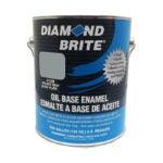 The Best Paint for Garage Walls Option: Diamond Brite Paint 31200 Oil Base All Purpose Enamel
