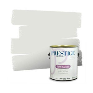 The Best Paint for Garage Walls Option: Prestige Interior Paint and Primer in One