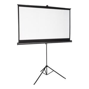 """The Best Projector Screen Option: TaoTronics 4K HD 100"""" Projector Screen with Stand"""