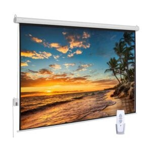 The Best Projector Screen Option: ZUEDA 100 inch