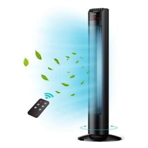 """The Best Quiet Fan Option: Tower Fan, Homech 36"""" Oscillating Tower Fan"""