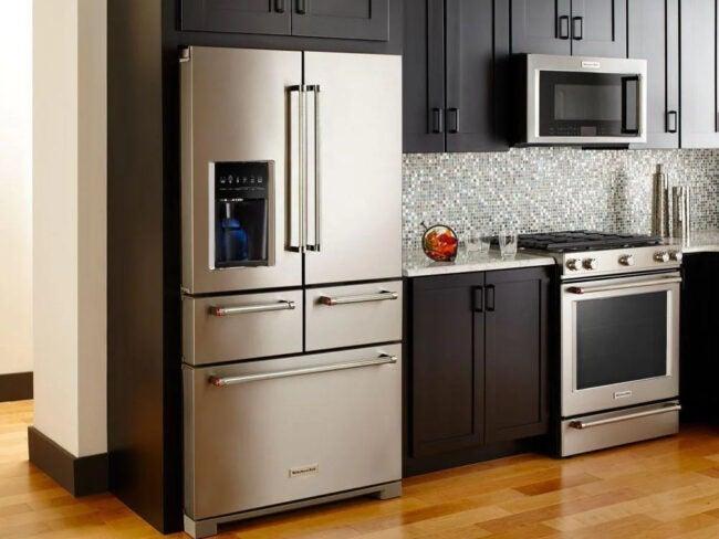 The Best Refrigerator Brands Option KitchenAid